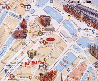 Cartina Amsterdam.Amsterdam Cosa Visitare La Mappa Lo Slideshow Di Foto E Immagini